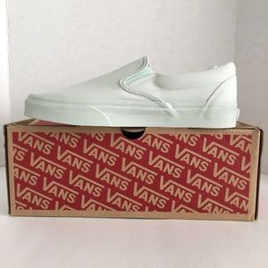 Vans Shoes - Vans Classic Slip-On Mono Canvas Milky Green Shoes f92512745